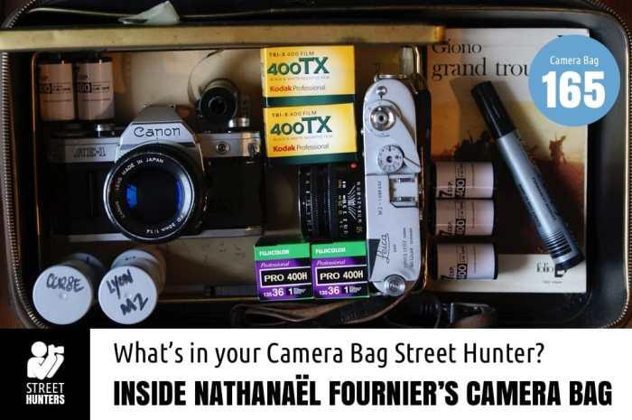 Inside Nathanael Fournier's Camera Bag - Bag No. 165