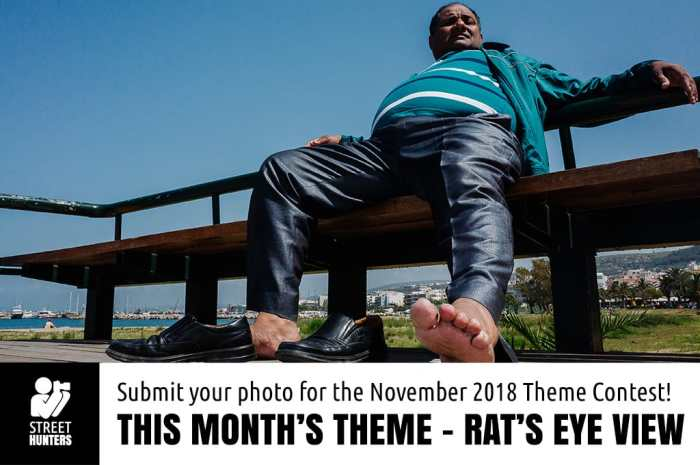 Rats Eye View street photography contest