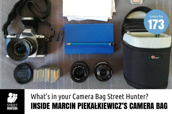 Inside Marcin Piekałkiewicz's Camera Bag - Bag No. 173