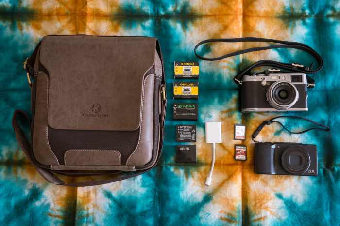 Inside Niels Hanssens Camera Bag - Bag No. 186