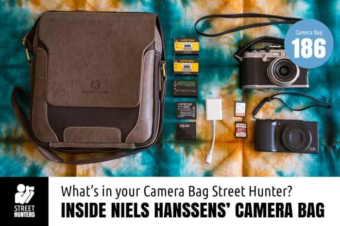 Niels Hanssens Camera Bag - Bag No. 186