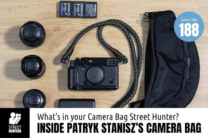 Patryk Stanisz's Camera Bag - Bag No.188