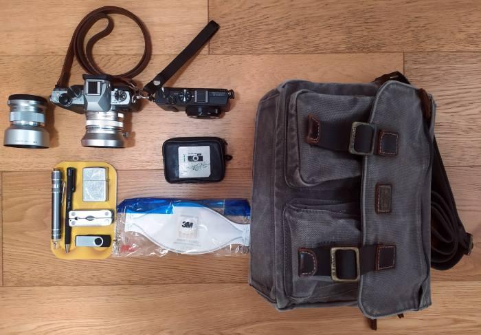 Inside Alberto's Camera Bag - Bag No.192