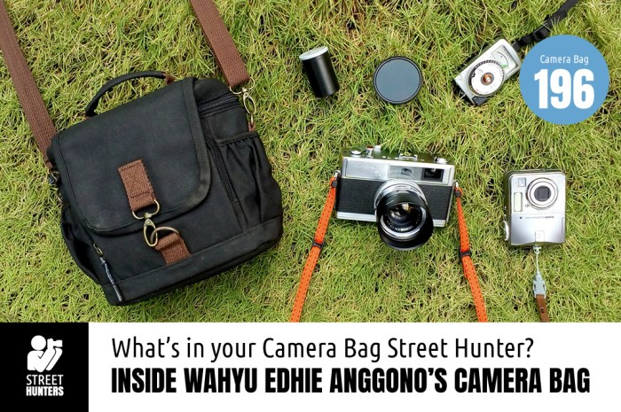 Inside Wahyu Edhie Anggono's Camera Bag - Bag No.196