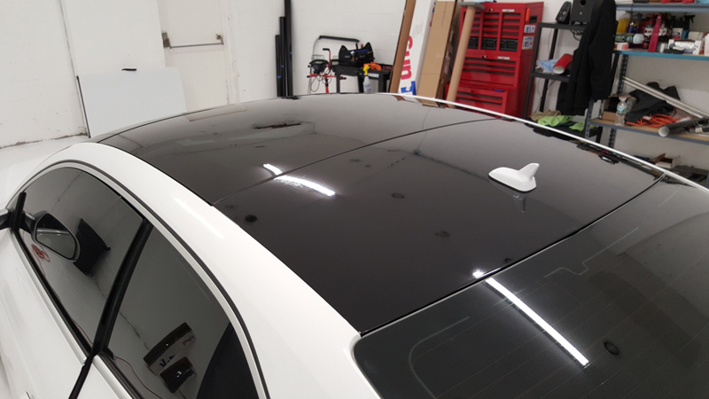 Street Image Motorsports Audi RS5 roof wrap vinyl wrap long island new york
