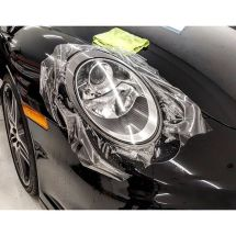Porsche 911 Turbo Headlight Clear Bra