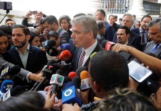 Image result for Venezuela to expel German ambassador for 'meddling'
