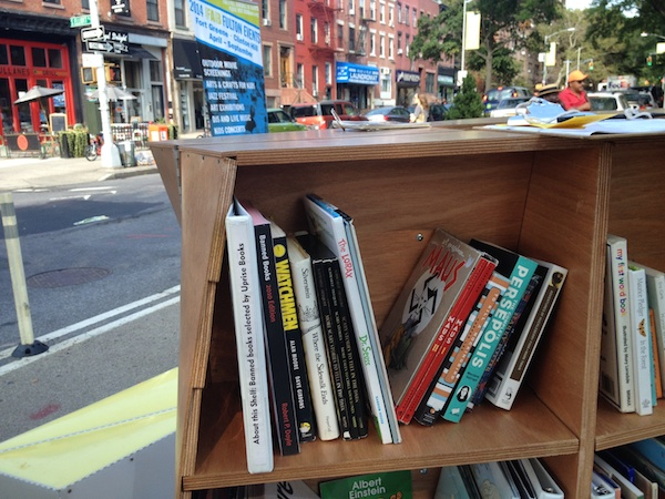 Banned books curated by Uprise Book Project. Encouraging teens to read by giving them books adults have banned.