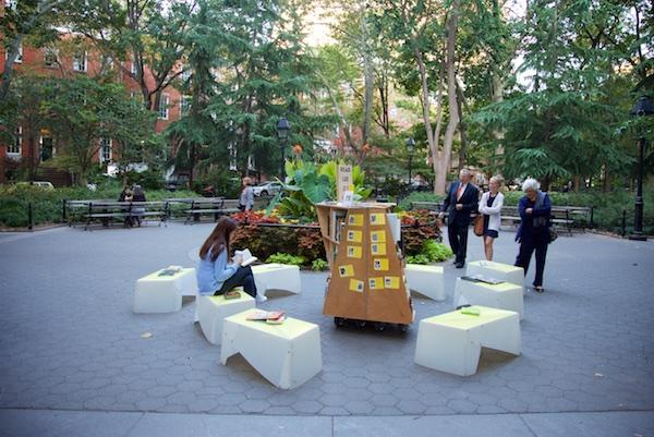 The Uni in Washington Square Park