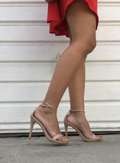 steve madden stecy nude heels