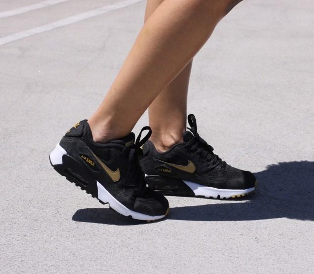 black gold nike air max 90