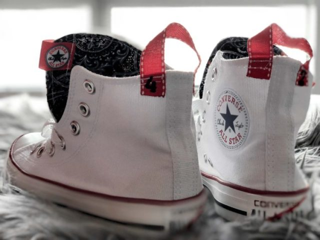 modified chuck taylors