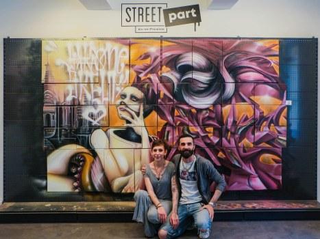 YAKA et SKEUM Street Art