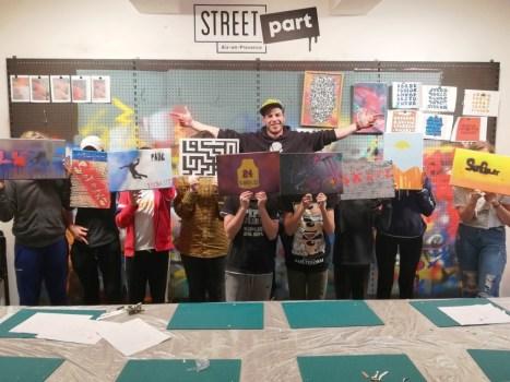 Atelier graffiti adultes et ados