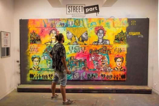 Le Street artiste VALE STENCIL
