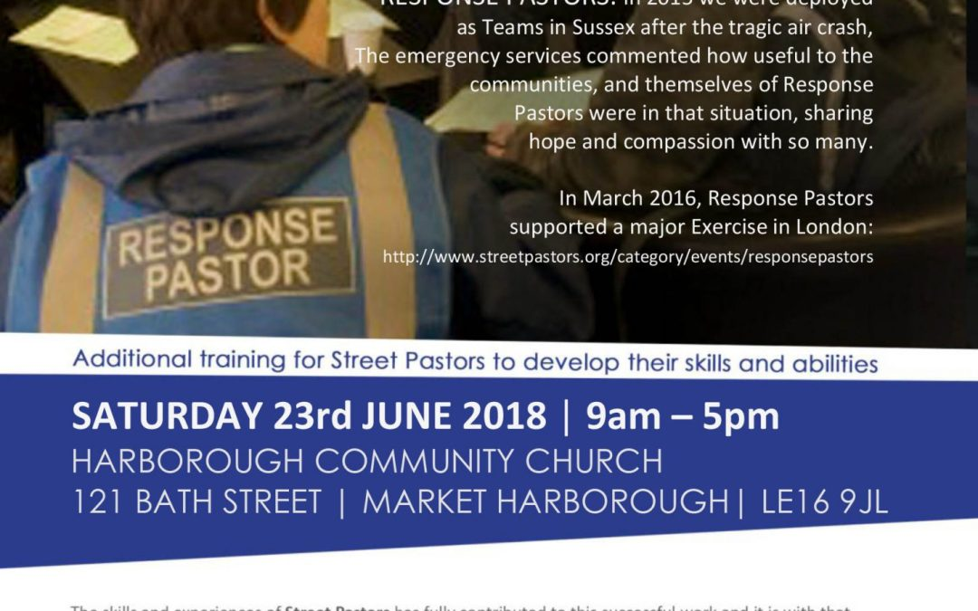 Response Pastor Training – Market Harborough