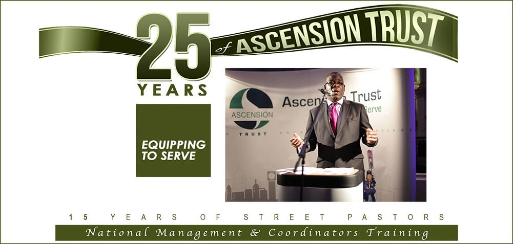 Ascension Trust National Management & Coordinators Training 8th – 9th November 2018