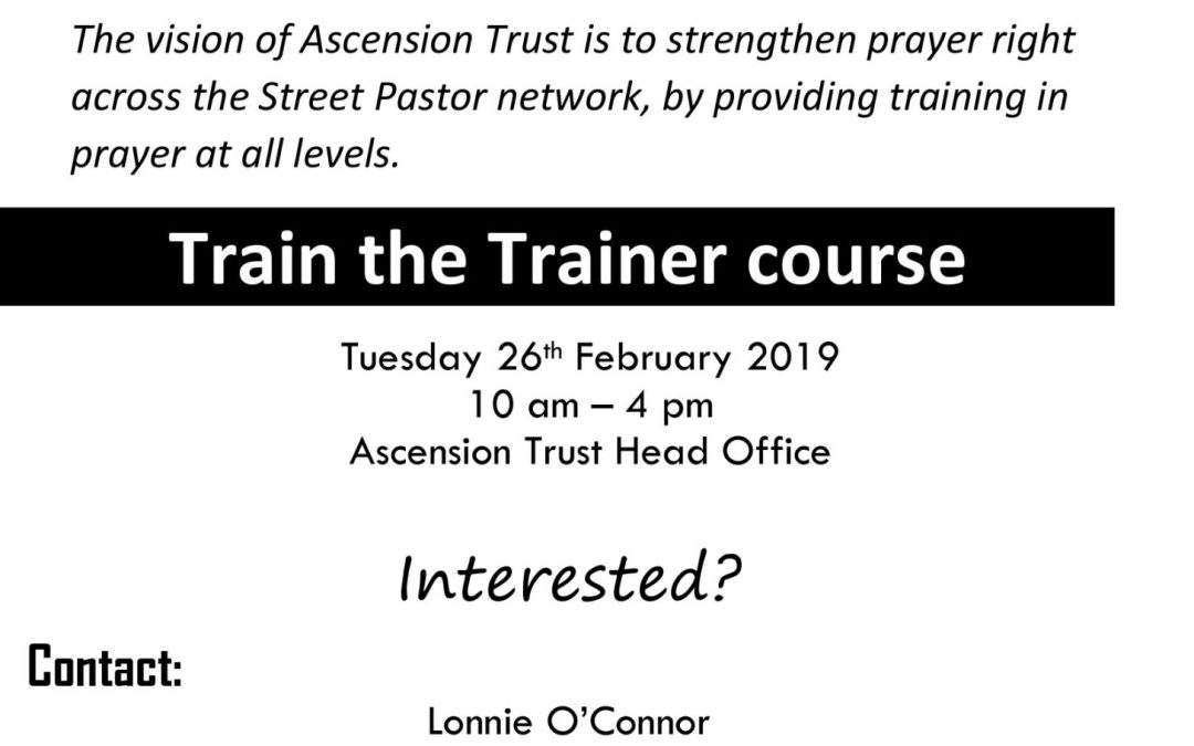 Train The Trainer- Prayer Trainer Course