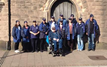 New street pastors in Exeter, 16 May 2015