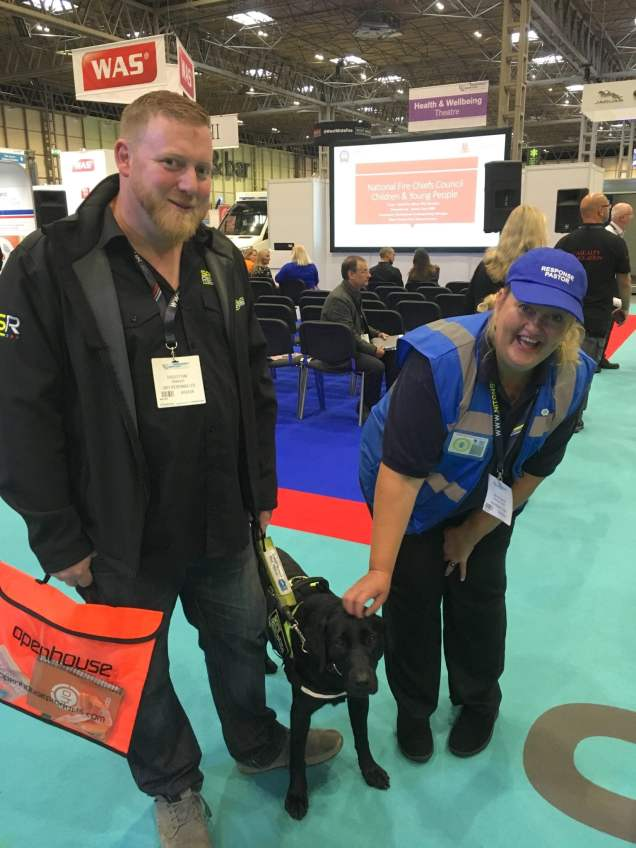 Zoe the Guide dog, yours for just £50k! I thought she was priceless!