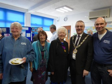 Jon with Mayor - Dianne - Alison and Former Mayor