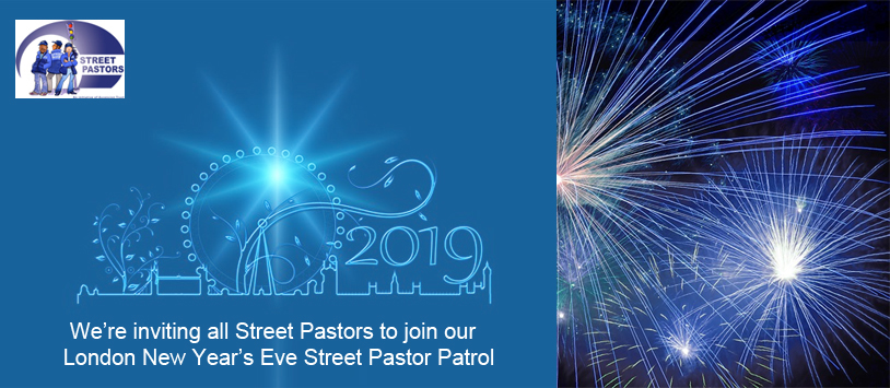 Calling all trained and authorised Street Pastors & Prayer Pastors… come and join our Central London New Year's Eve Street Pastor Patrol in the heart of Westminister.