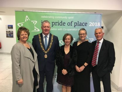 Pride of Place SPs with Mayor