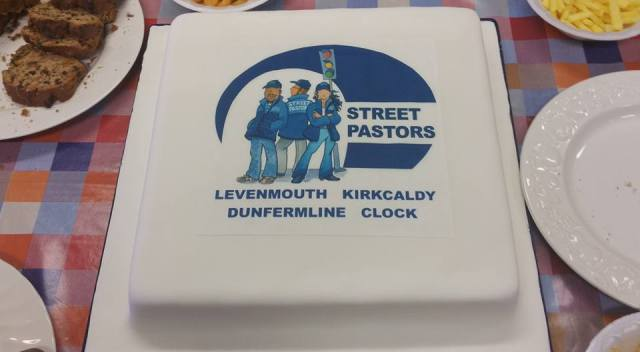 Street Pastors cake