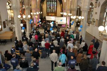 The commissioning service for Preston and South Ribble Street Pastors