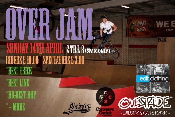 Override BMX Jam April 2013
