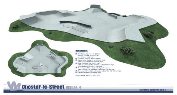 Chester-le-Street Skatepark Plans