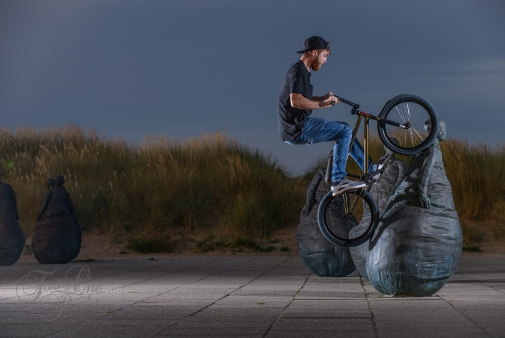 Jamie Witts - Weeble Wall Ride, South Shields