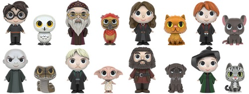 Harry Potter Mystery Minis figures