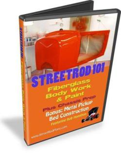 StreetRod 101 Fiberglass Body Work and Paint DVD