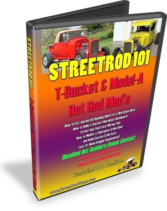 StreetRod101 T-Bucket Model-A HotRod Mods