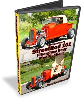 StreetRod 101 Fiberglass Body Modifications DVD