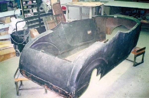1927 T roadster street rod body