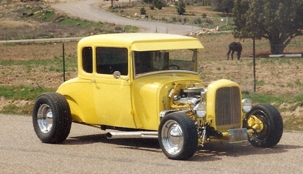 how to build a street rod 1928 Ford Model A coupe