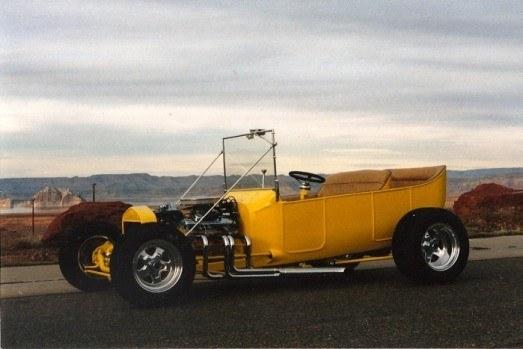 how to build a street rod fiberglass T-Bucket touring car