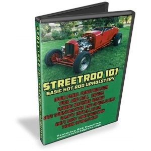Basic Hot Rod Street Rod Upholstery How To Video DVD