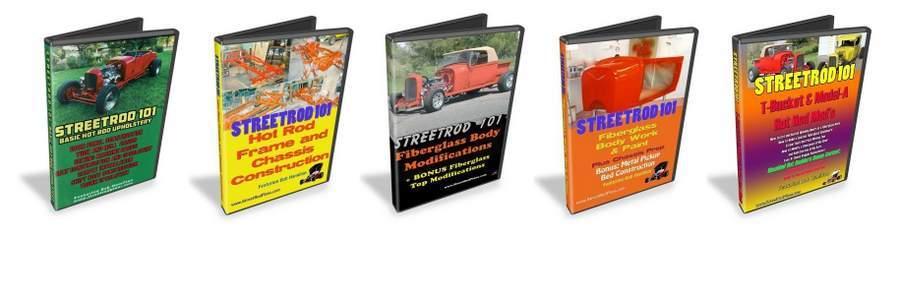 StreetRod 101 DVD Library