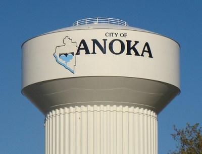 anoka watertower