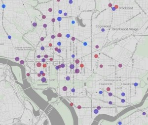 DC's Capital Bike program is far smaller and far less used than leading bike-sharing systems.