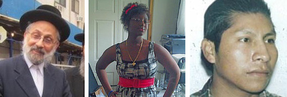 Meilech Weiss, Aniya Williams, Unidentified Cyclist Killed July 18 in the Bronx
