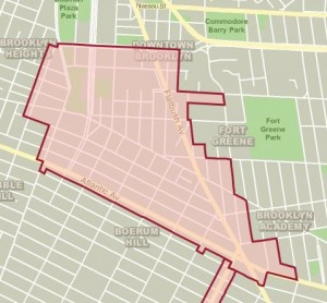 Downtown Brooklyn Map