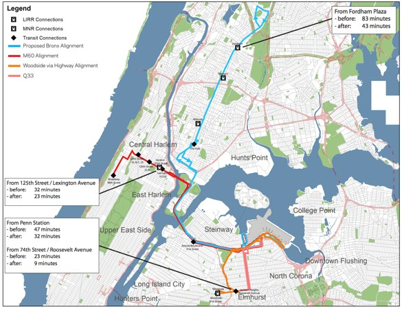 Upgrades To LaGuardia Bus Service Will Speed Local Trips Too - Laguardia airport map