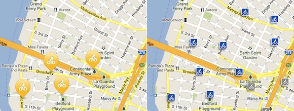 Eyes on the Street: Bike-Share Stations Come to Williamsburg ... Citibikenyc Com Map on