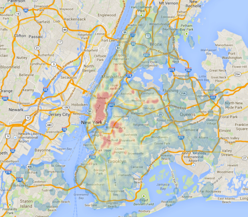Heat Maps Show Where Traffic Takes The Most Lives In Nyc