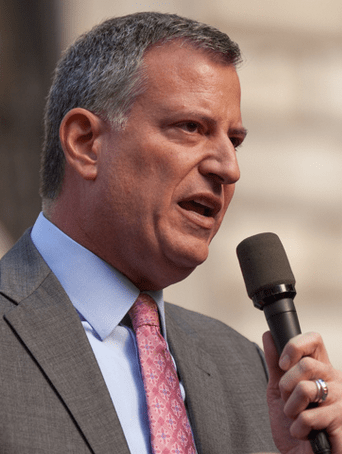 Bill de Blasio wants to talk housing, but not as much about transportation infrastructure. Photo: Kevin Case/Flickr