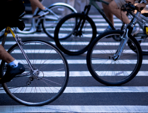 Not bike-friendly enough: NYC didn't move up to the next level of bike-friendly cities this year. Photo: Missy S./Flickr